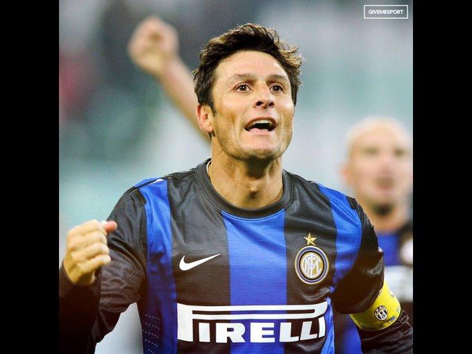 Happy Birthday legend. Javier Zanetti
