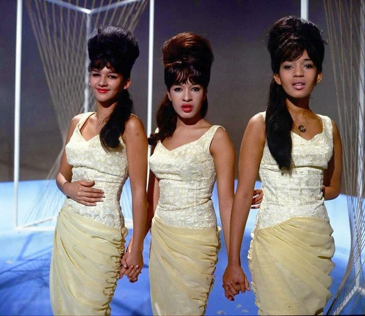 Happy Birthday to Ronnie Spector(middle) who turns 74 today!