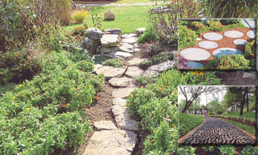 Garden landscaping: Creative pathways to handle foot traffic