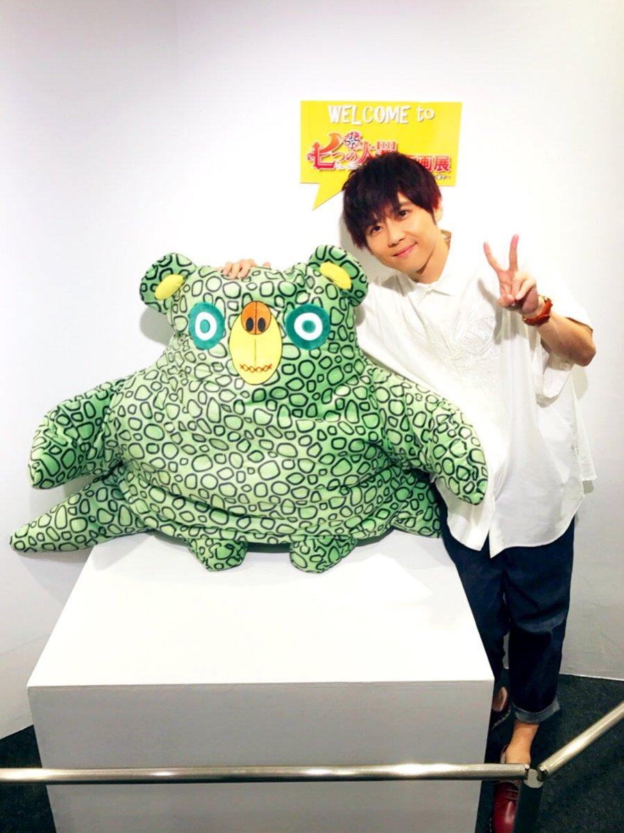【梶】「七つの大罪」原画展・トークショーでした!鈴木央先生の素敵な原画がぎっしりです!広い会場なので、じっくりたっぷりご