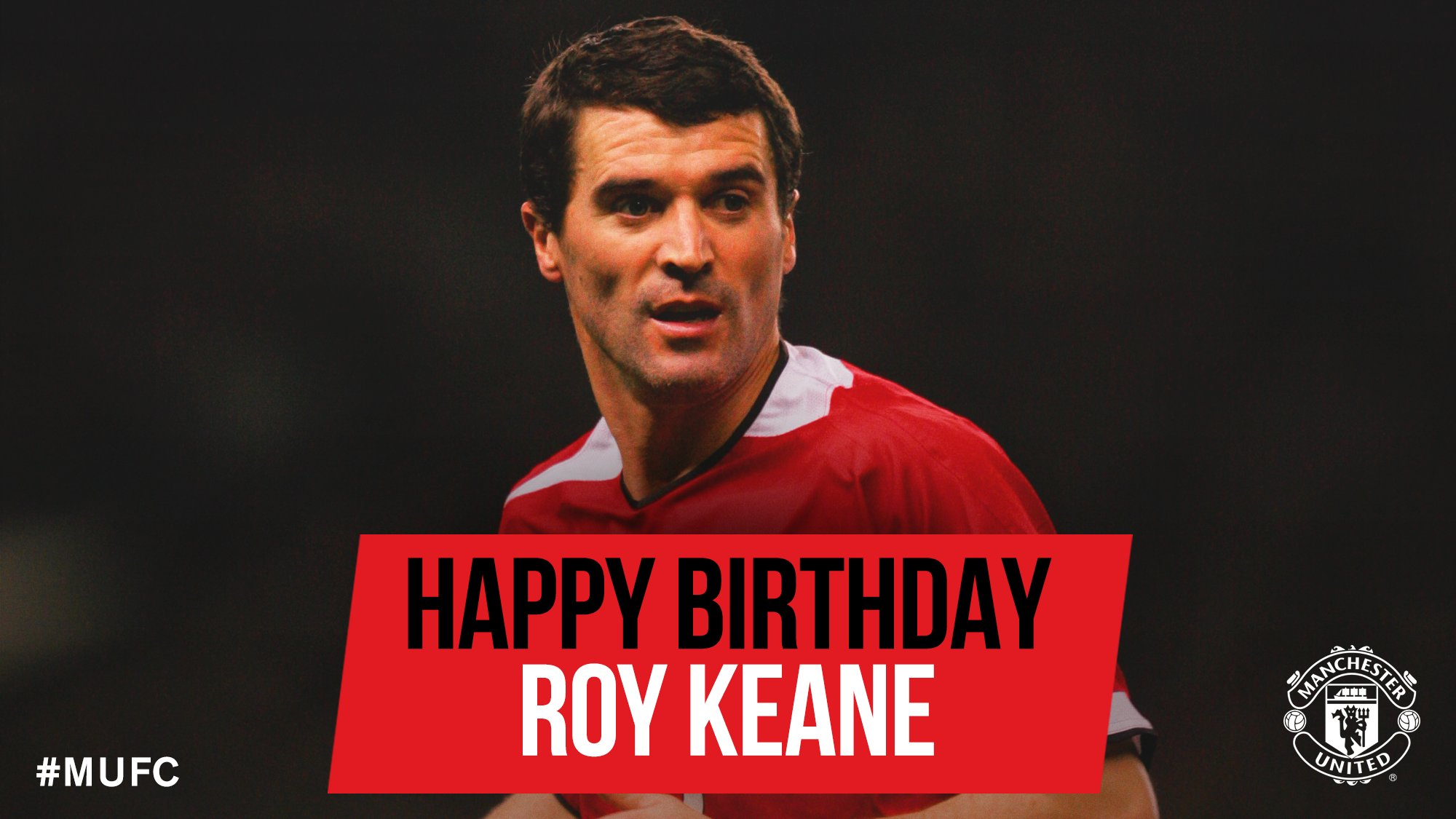 Happy 46th Birthday, Roy Keane!
