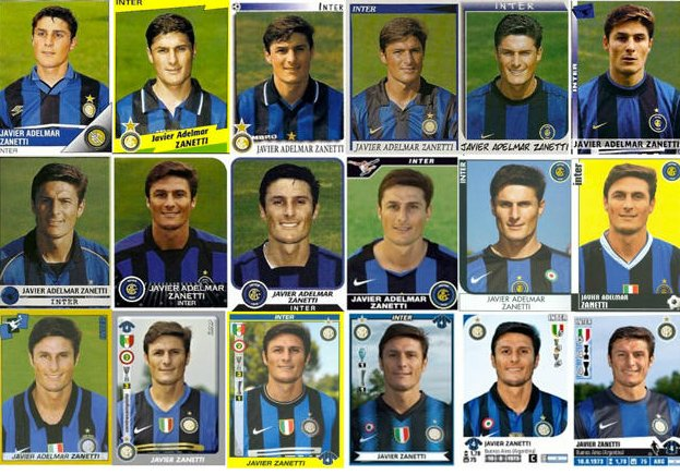 Happy 44th birthday to Javier Zanetti\s haircut
