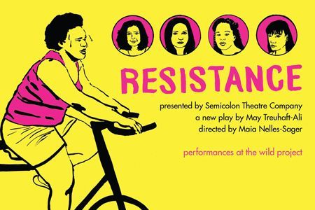 test Twitter Media - Debuting tonight in NYC: Resistance, a play by Wes alumnae about weight, female relationships and gentrification: https://t.co/gUuDynxZsL https://t.co/lQBYMQ0Cw5