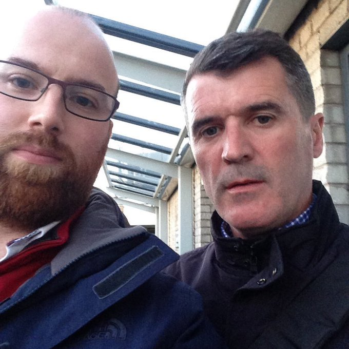 Happy Birthday Roy Keane I hope it\s as happy as the day we met