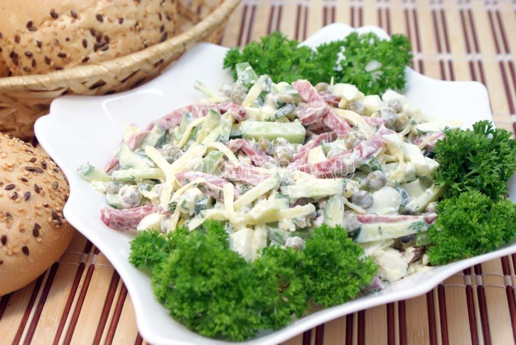 Вкусные салаты на скорую руку рецепты с недорогие