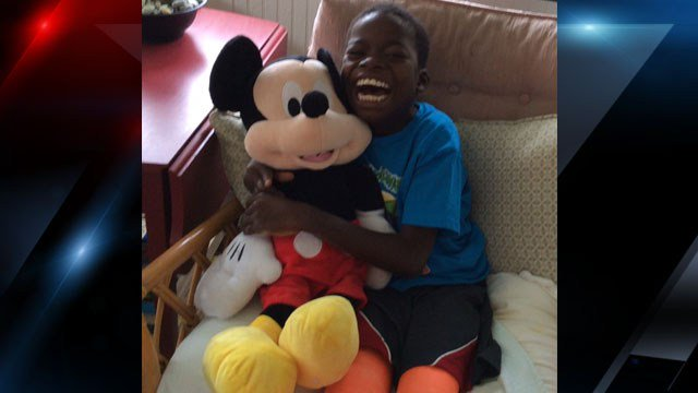 Rescued orphan from Ghana stands for first time after Shriners Hospital surgery