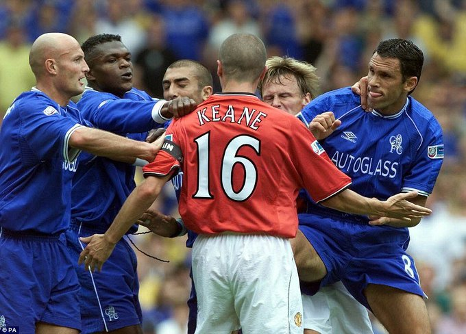 473 career games  19 career trophies  Happy 46th birthday to the scariest man in football, Roy Keane.