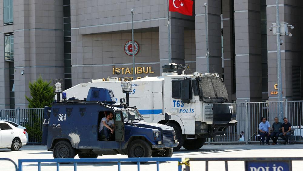 Turkey orders arrest of 35 people, including nine journalists, in latest crackdown