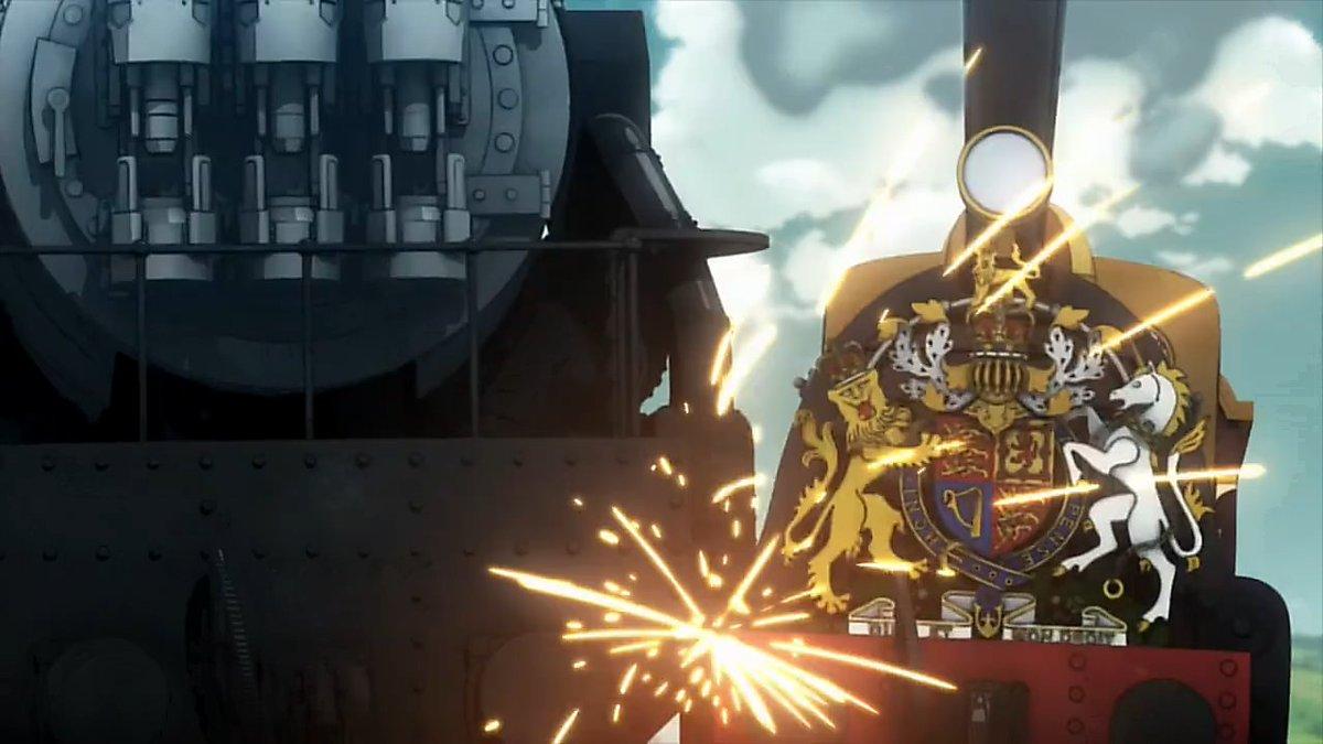 「甲鉄城のカバネリ」での神業オンパレードと同様、今回で描かれた列車アクションそのもの丸ごとが「プリンセス・プリンシパル」