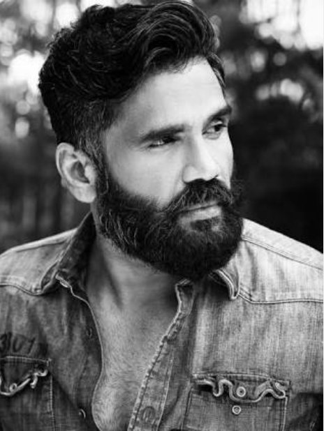 Heyy happy birthday  sunil shetty God bless you and have a nice day today