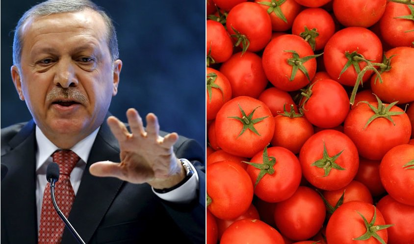 Turkey threatens Russia with countermeasures over tomato ban