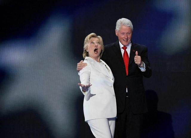 Hillary Clinton tekur áhættu í fatavali