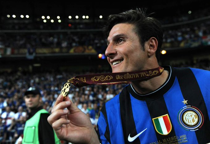Happy birthday to Javier Zanetti!  19 seasons 858 games 21 goals  16 trophies  legend.