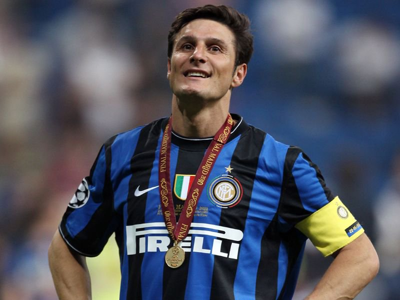 HAPPY BIRTHDAY: Javier Zanetti  - 19 seasons - 16 trophies - Inter Milan\s highest capped player.
