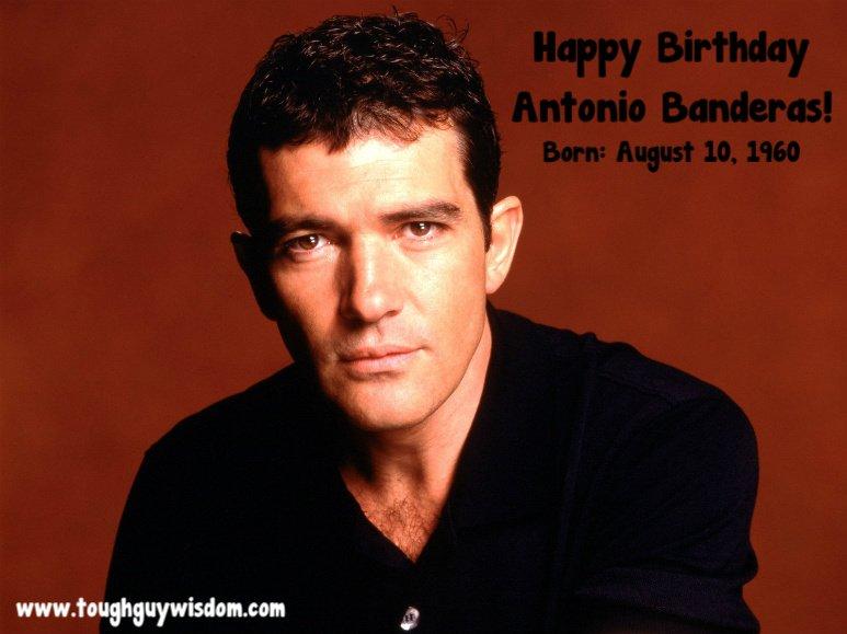 Happy 57th Birthday to Antonio Banderas!