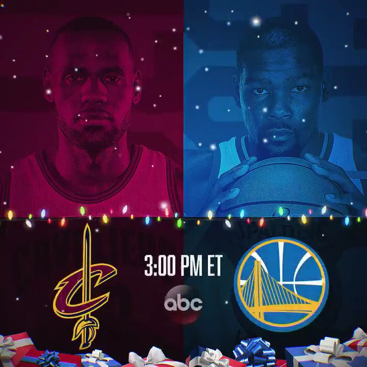 Which #NBAXmas game are YOU most looking forward to? https://t.co/642bUPdfKA