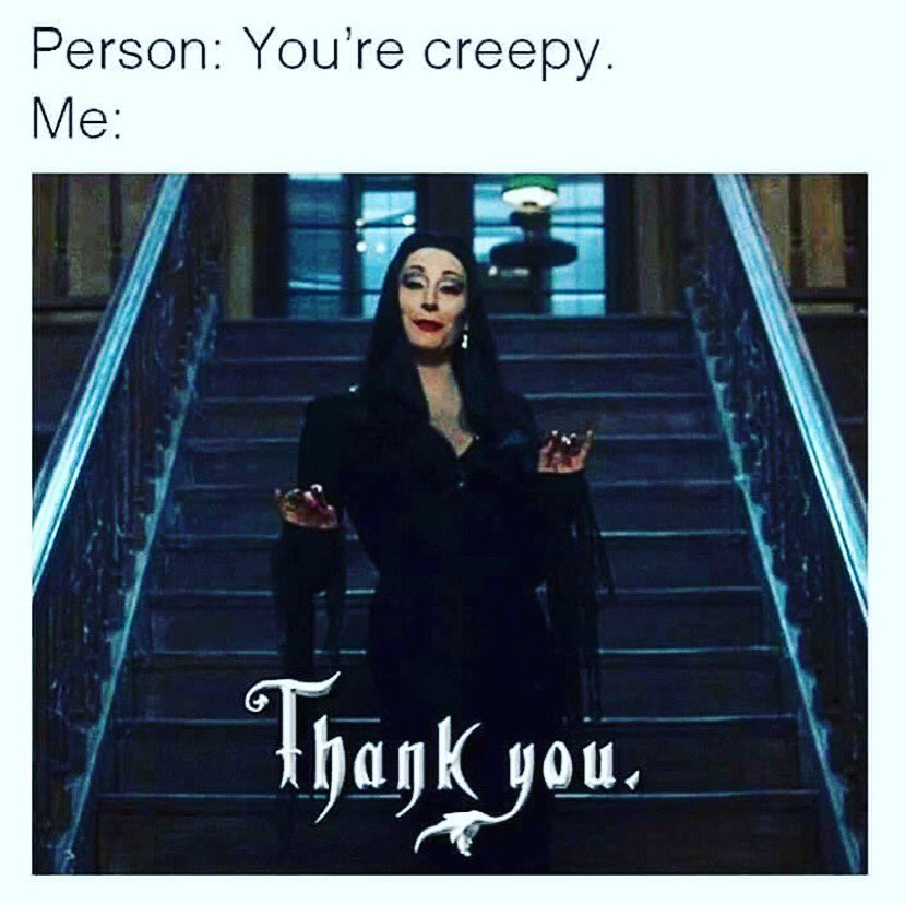 Retweet if you're #creepy and proud! https://t.co/s34hOqhgJR