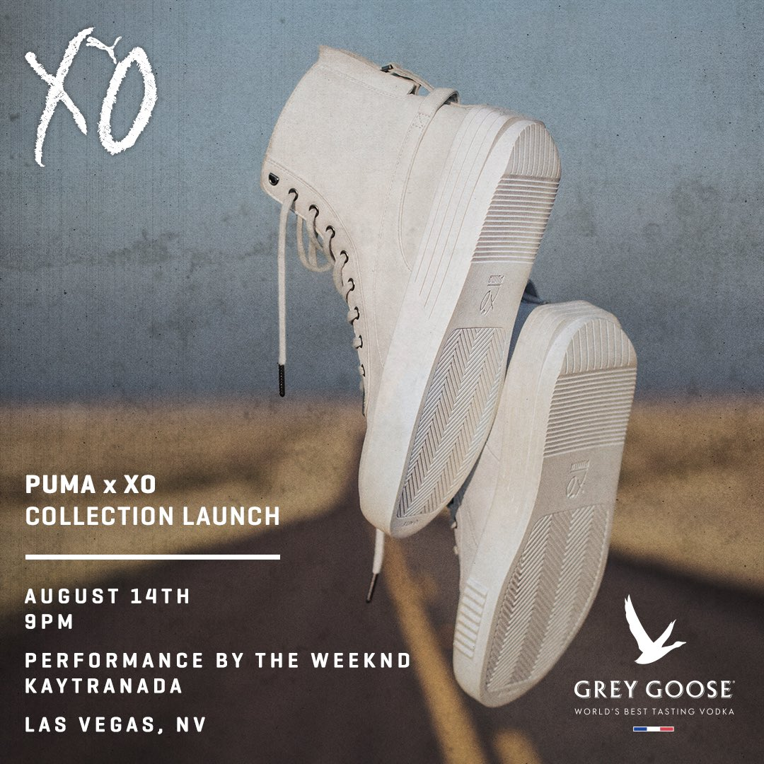 Puma x XO, August 14 in Vegas https://t.co/BiQPDHqTZN