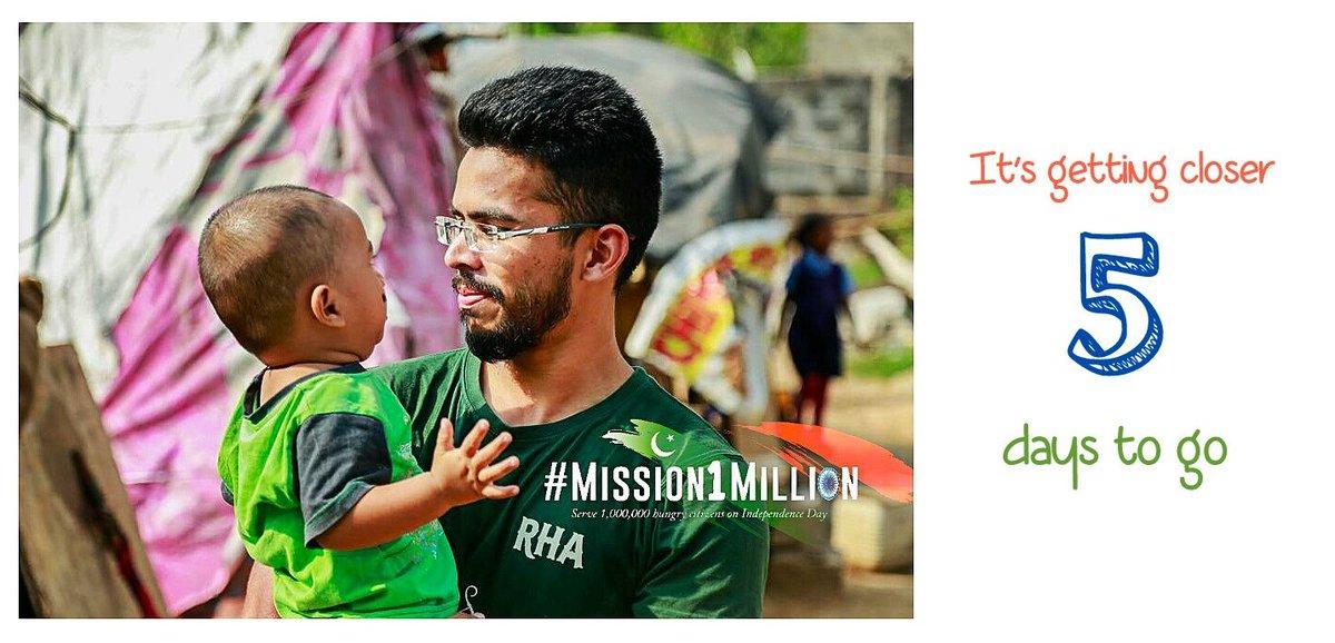 #Mission1Million