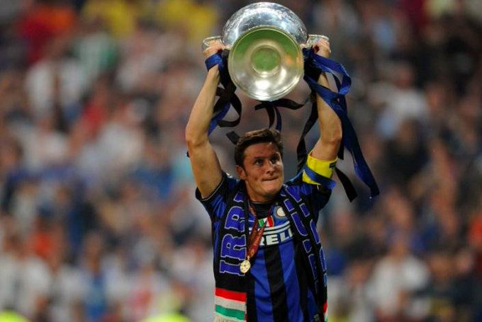 Happy 44th Birthday Javier Zanetti  Seasons: 19 Games: 858  Goals: 21 Trophies: 16  Legend