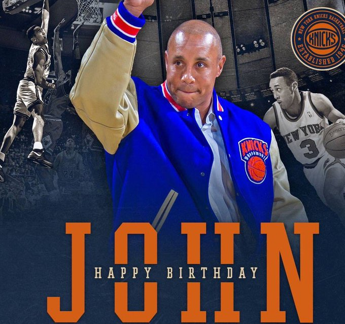 Happy Birthday John Starks!!!