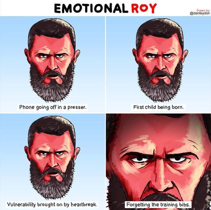 Happy Birthday Roy Keane (Pic by