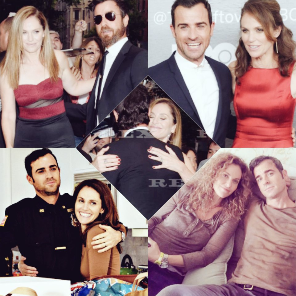 Happy, happy birthday to this hot man ! I love these pictures with and Justin Theroux.
