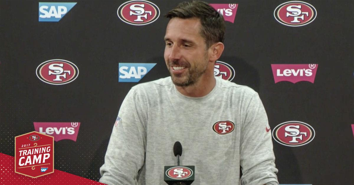 ICYMI, Kyle Shanahan explains #49ers preparations for Chiefs.   WATCH: https://t.co/8F02Mty3zf https://t.co/LYaOwpJUKu