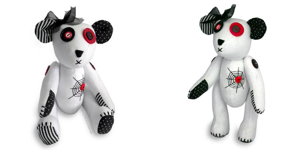 #Gothic teddybear #sewing pattern Creepy handmade #flockBN Sew easy https://t.co/e2UUvsciKa  https://t.co/sHKn517hSE https://t.co/CFRJesEK2N