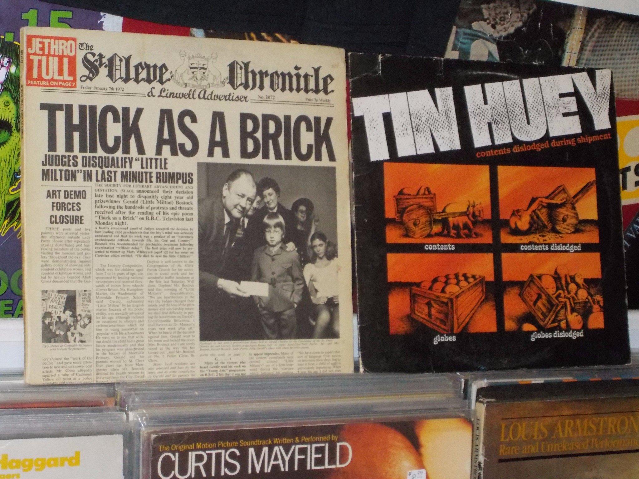 Happy Birthday to Ian Anderson of Jethro Tull & the late Mark Price of Tin Huey