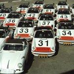 Historic Porsche Police Fleet Meets In The Netherlands