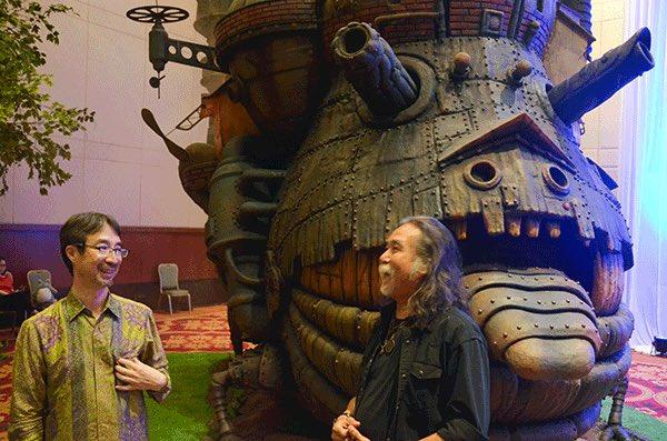 ◎世界最大級のジブリ展ジャカルタで開催!インドネシア人造形家たちが再現した高さ8.5mある「ハウルの動く城」も登場! -