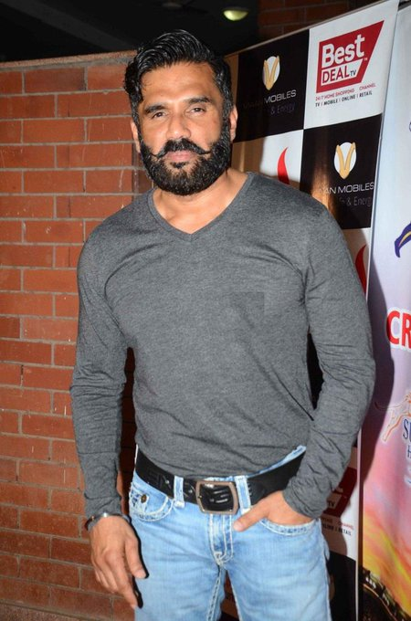 Happy birthday sir  Boli wood silvar stalon  Action King  Sunil SHETTY SIR