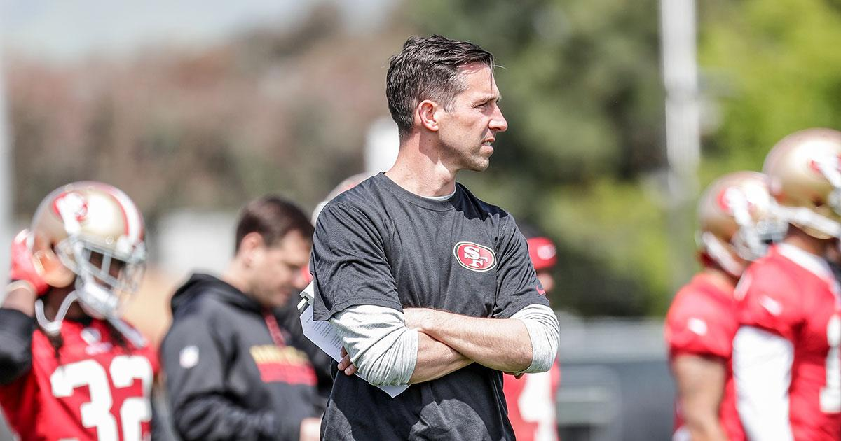 Shanahan joined @KNBR and discussed competition for 49ers No. 2 QB. Listen in: https://t.co/rrzLReGjVB https://t.co/tzyzkugfgg
