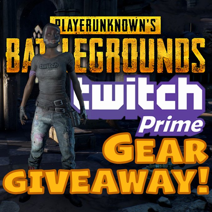 PLAYERUNKNOWN'S BATTLEGROUNDS Twitch Prime Loot Giveaway