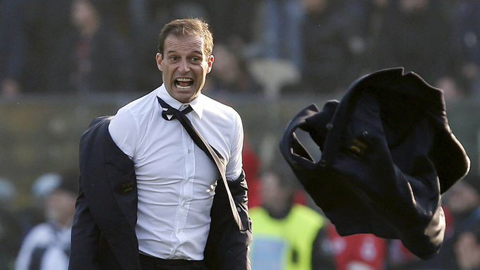 Happy birthday to Juventus manager Massimiliano Allegri, who turns 50 today.  Wins: 116 Draws: 26 Losses: 24 : 7