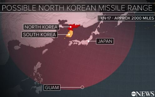 How a North Korean attack could play out: https://t.co/aPr0MEneE7  @GMA is LIVE tomorrow from #Guam. https://t.co/pYtPlP6eR5