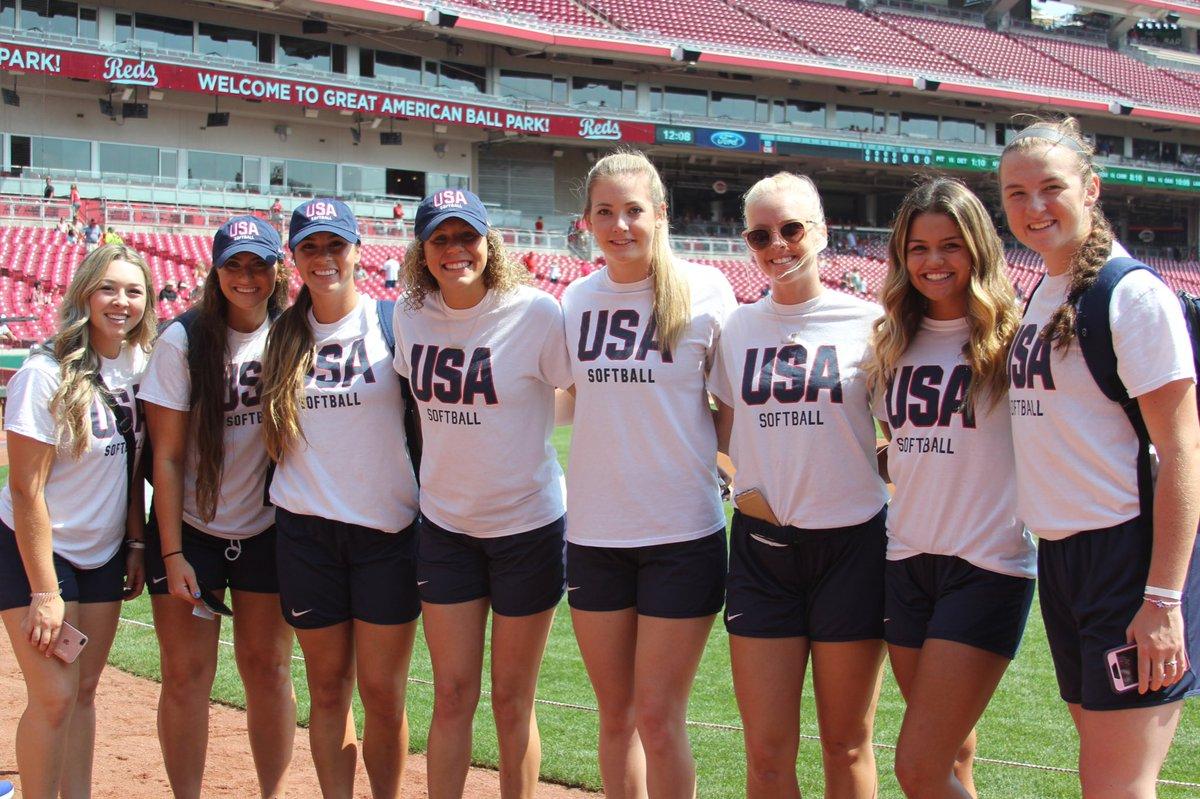 #USASoftball