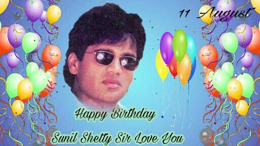 Happy birthday Sunil Shetty Sir