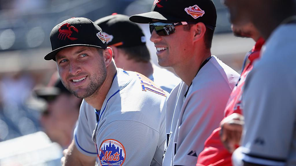 .@TimTebow made a young autistic fan's day, and then went yard immediately after: https://t.co/AM8UlBuHpY https://t.co/m3TYdMImnh