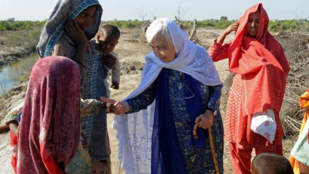Pakistan's 'Mother Teresa' dies aged 87