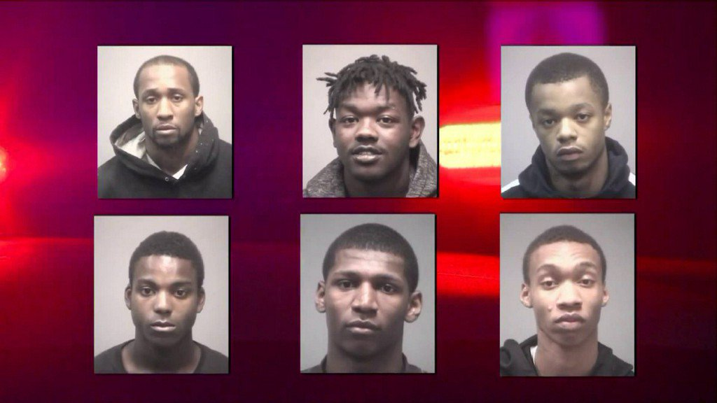 Six alleged New Haven gang members facing federal racketeering charges