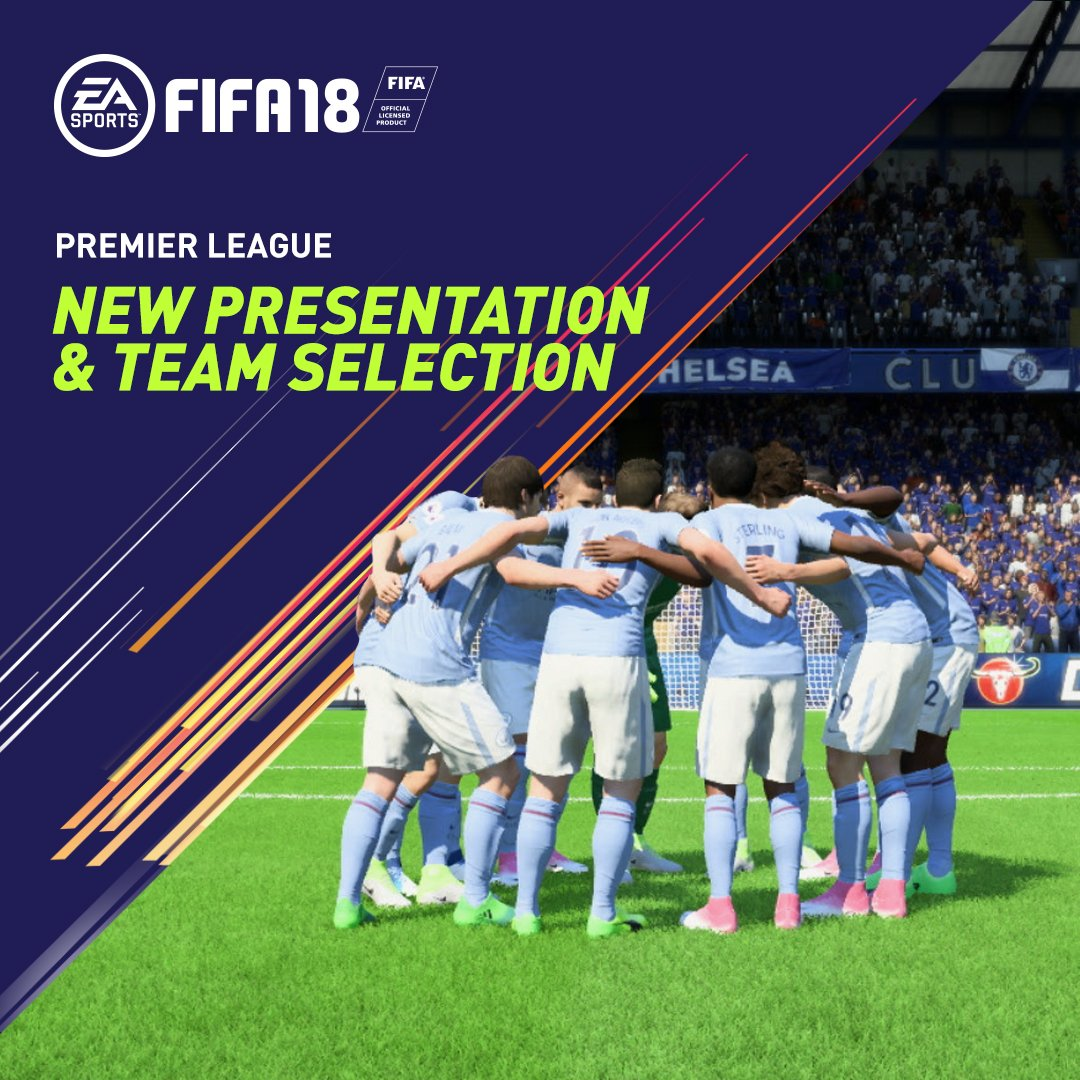 It's finally back! �� #PLKickoff  Check out #FIFA18's new @premierleague presentation package �� https://t.co/mWzKMvYEdA