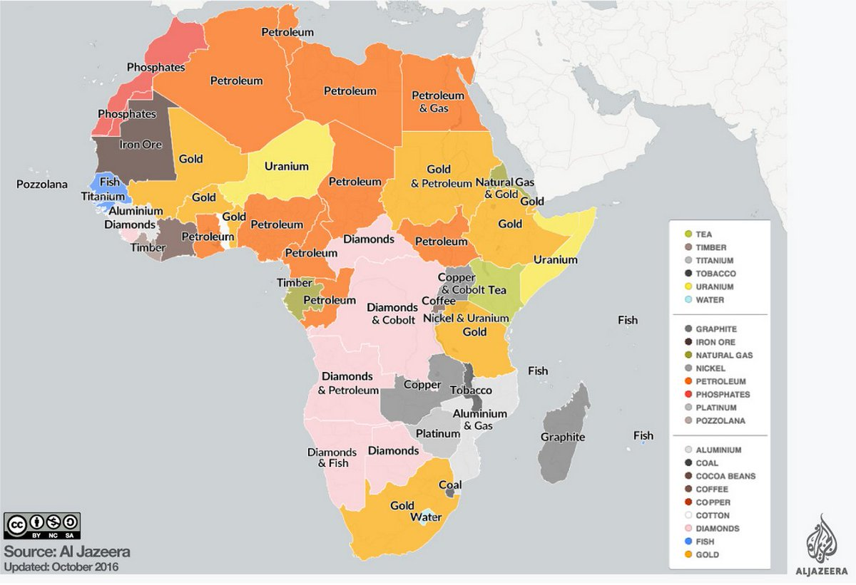 Mapping Africa's natural resources