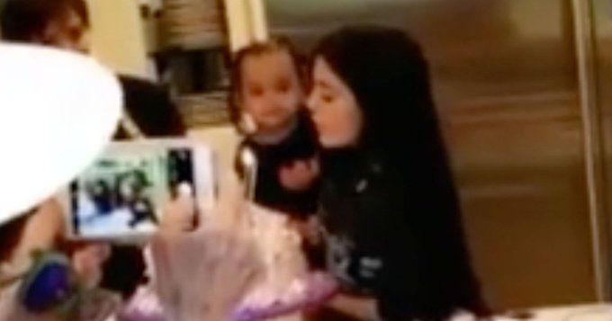 Dream Kardashian and Saint West Sing Happy Birthday to Kylie Jenner at Family Party