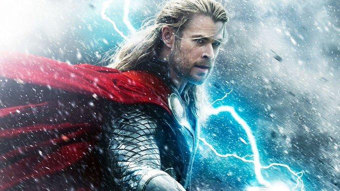 Happy Birthday to the mighty Thor Chris Hemsworth!