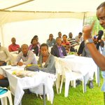 Young professionals in Wakiso get business skills