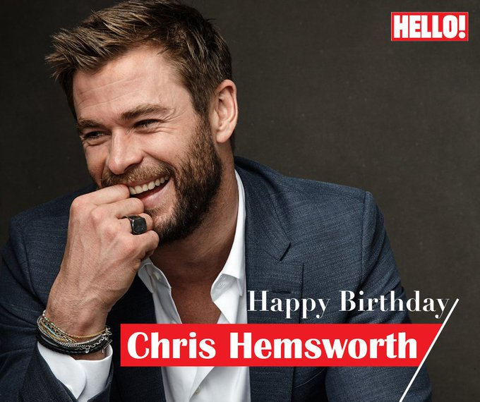 HELLO! wishes Chris Hemsworth a very Happy Birthday