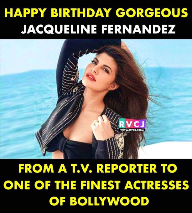 "Happy Birthday Fernandez.......(one of my favourite actress) Best of luck for ""A Gentleman\"""