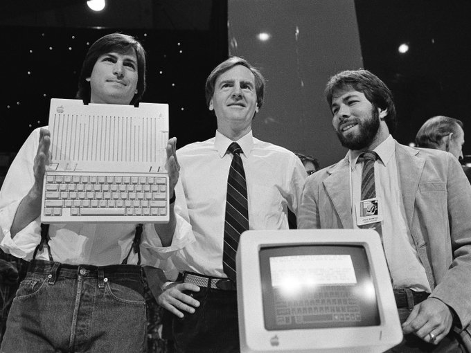 Happy Birthday to Steve Wozniak(far right), who turns 67 today!